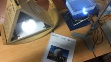 ONP : instruments utilisés par l'équipe de Canberra pour son projet scientifique