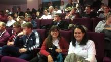 ONP 2020 : les élèves de l'équipe de Canberra dans l'amphithéâtre Buffon
