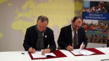 OLFM : signature de convention AEFE - Radio France