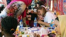 40 ans du lycée français Montaigne au Tchad : kermesse