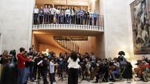 L'orchestre des lycées français du monde (saison 2) à Madrid : représentation à la résidence de France