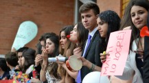 Baccalauréat 2016 : joie à Bogota