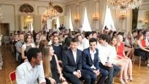 Baccalauréat 2016 : cérémonie à Prague