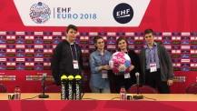 EHF 2018 : l'équipe des JRI du Lycée français de Budapest