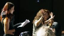 L'orchestre des lycées français du monde (saison 2) à Madrid :  déchiffrage de partition avec Alithéa Ripoll