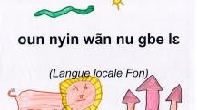 """J'aime les langues"" en langue fon"