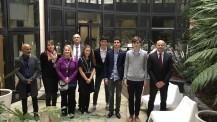 Olympiades nationales de la chimie 2018: les délégations AEFE réunies à l'Agence
