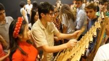 L'Orchestre des lycées français du monde (saison 3) à Ho-Chi-Minh-Ville : soirée d'accueil