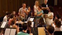 """L'Orchestre des lycées français du monde (saison 3) à Ho-Chi-Minh-Ville: répétition avec les tuteurs du """"Philhar"""""""