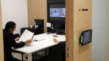 Visioconférence entre des personnels des services centraux et du réseau à l'étranger