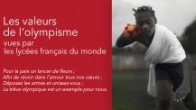 """Expo photo """"Les valeurs de l'olympisme"""" : visuel d'introduction"""