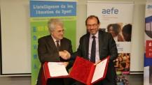 Partenariat entre l'AEFE et la Fédération française des échecs
