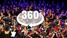 Plongée à 360°au cœur de l'Orchestre des lycées français du monde en concert
