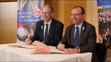 Signature de convention avec le Comité national olympique et sportif français (CNOSF)