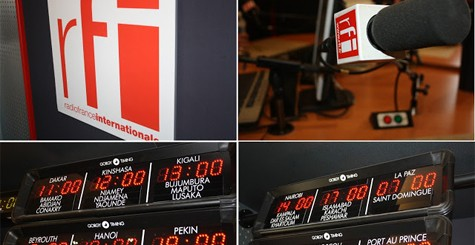 Émission de radio avec des boursiers Excellence-Major sur RFI