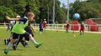 Jeune Planète Foot : rencontre d'écoliers d'Italie, de France et du Portugal pour une éducation au sport et par le sport pendant l'Euro de football