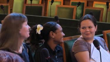 La délégation du Vanuatu