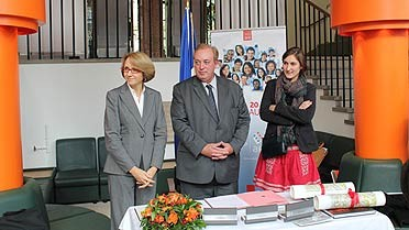 <strong>Anne-Marie Descôtes, Marc-Philippe Daubresse et la 1re