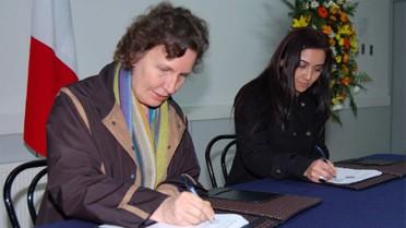 Accord avec l'université San Sebastian