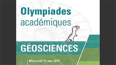Affiche du concours 2011 des Olympiades académiques de géosciences