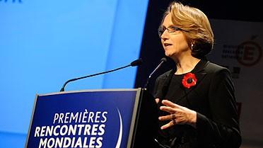 Anne Marie Descôtes, directrice de l'AEFE