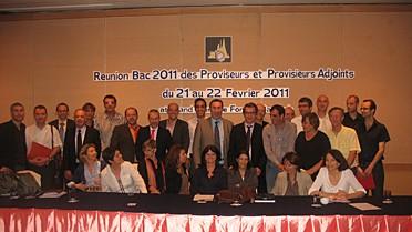 """Les participants de la réunion """" Bac 2011"""" en Thaïlan"""