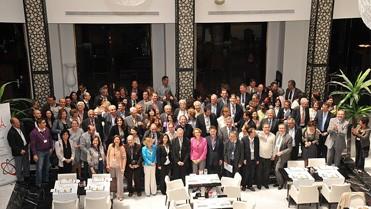 Les congressistes du FOMA 2011, le 23 avril à Casablanca.