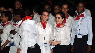 Élèves du lycée français de Kinshasa