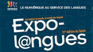 Visuel du Salon Expolangues 2013