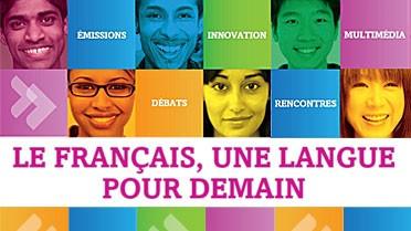 Visuel « le français, une langue pour demain »
