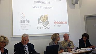 Respnsables du CLEMI, du CNDP et de l'AEFE