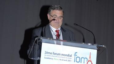 Intervention de Didier Montant, proviseur du lycée Lyautey.