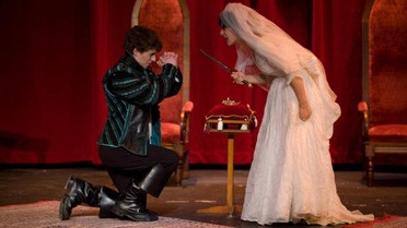 Une scène de l'Acte V d'Hernani