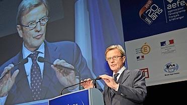 Bernard Kouchner, ministre des Affaires étrangères et européennes