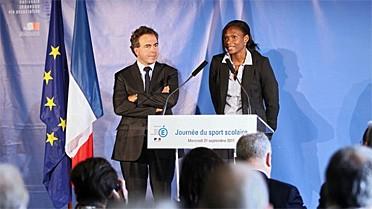 Conférence de presse de Muriel Hurtis