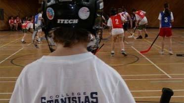 Match de hockey à Stanislas-Québec