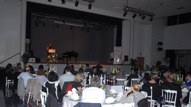 Réception du soir dans la salle Delacroix du lycée Lyautey.