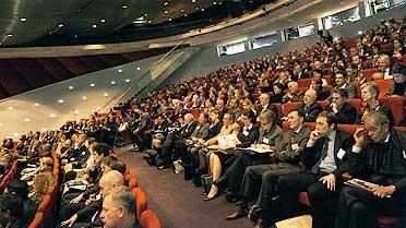 Séance plénière inaugurale au Palais des Congrès de Paris