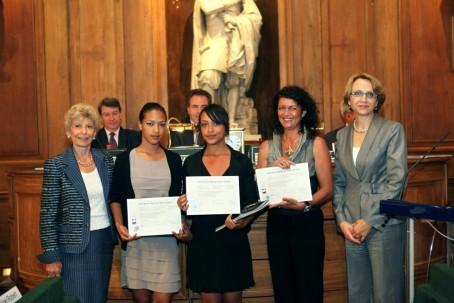 """Remise du 1er prix (catégorie """"Lycée général"""")"""