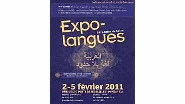 Affiche du salon Expolangues 2011