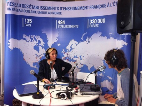 Interview de la directrice de l'AEFE