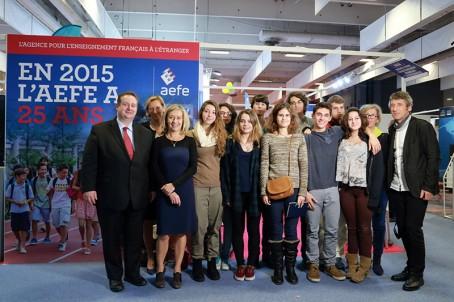 Photo de groupe avec des parlementaires