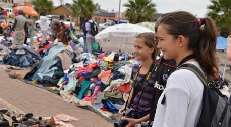Sortie au marché de Thokoza