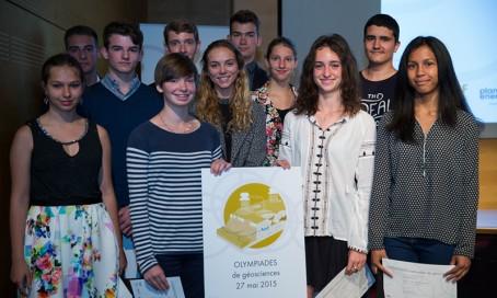 Le groupe des médaillés d'argent