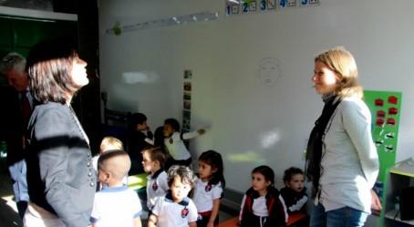 Échanges avec une enseignante