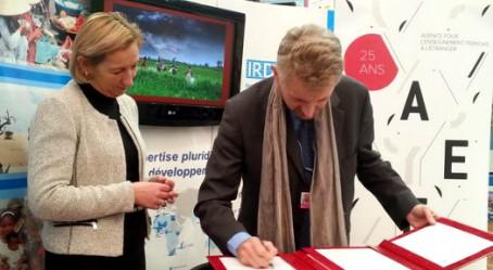 Jean-Marc Châtaigner, signataire de la convention