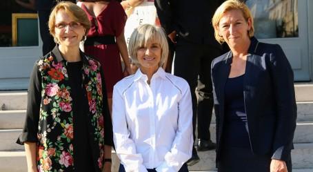 Anne-Marie Descôtes, Élisabeth Guigou et Hélène Farnaud-Defromont