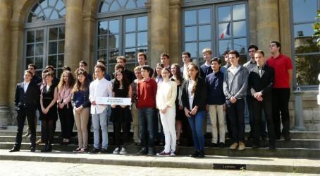 Les lauréats des Xe Olympiades de géosciences