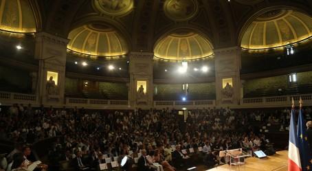 Le grand amphithéâtre de la Sorbonne