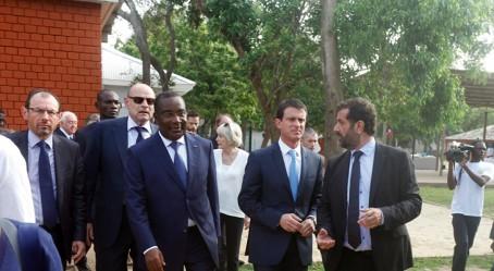 Arrivée des personnalités à Lomé
